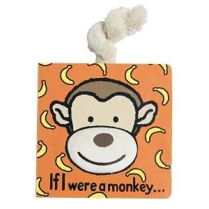 Jellycat If I Were A Monkey Board Book