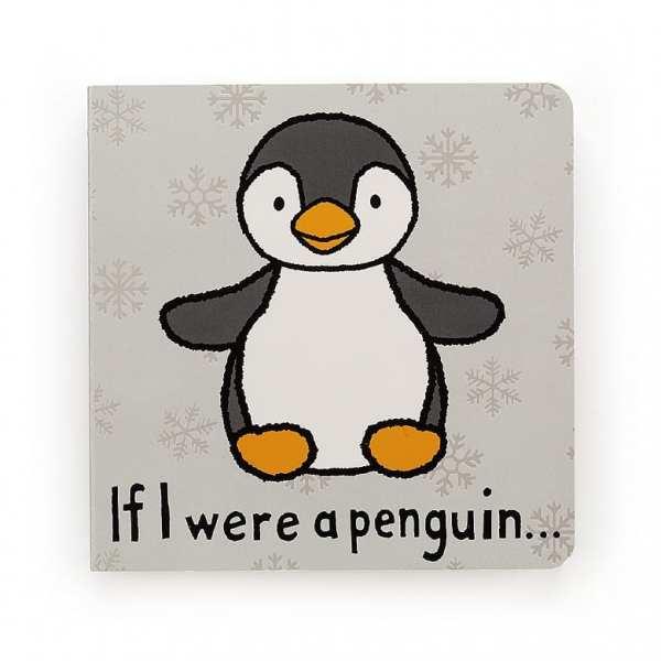 Jellycat If I Were A Penguin Board Book