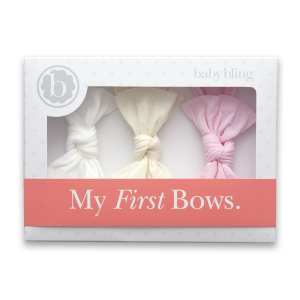 Baby Bling My First Bows 3-Pack