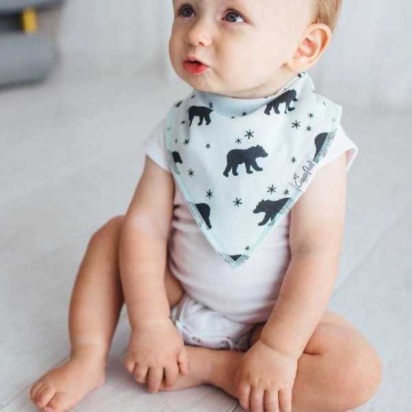 Copper Pearl Archer Bandana Bib 4-Pack