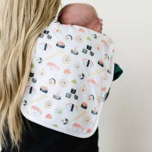 Copper Pearl Baja Sushi Burp Cloth