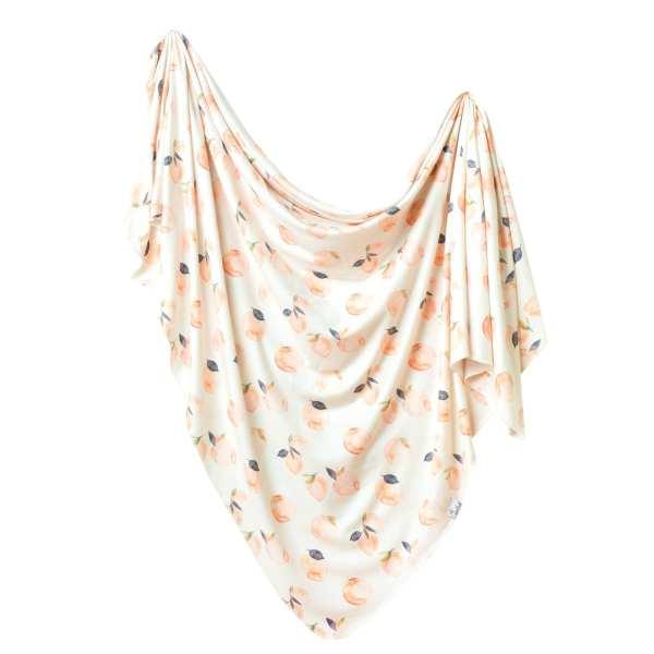 Copper Pearl Caroline Swaddle Blanket
