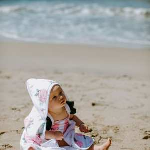 Copper Pearl Grace Hooded Towel