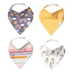 Copper Pearl Hope Bandana Bib 4pack