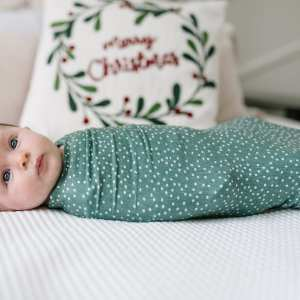 Copper Pearl Juniper Swaddle Blanket
