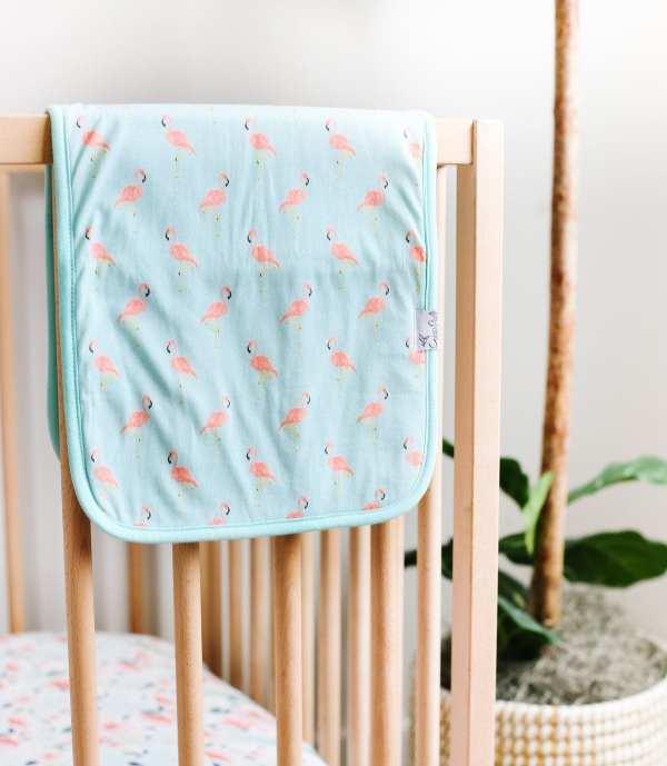 Copper Pearl Leilani Burp Cloth