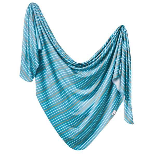 Copper Pearl Milo Swaddle Blanket