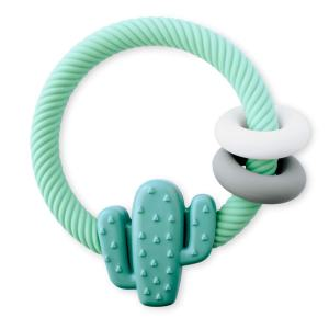 Itzy Ritzy Cactus Rattle Teether