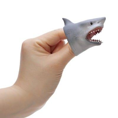 Schylling Shark Baby Puppet