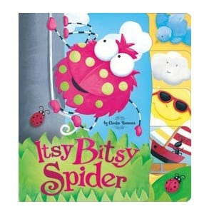 Itsy Bitsy Spider Picture Book