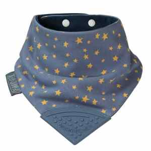 Cheeky Chompers Midnight Blue Bib