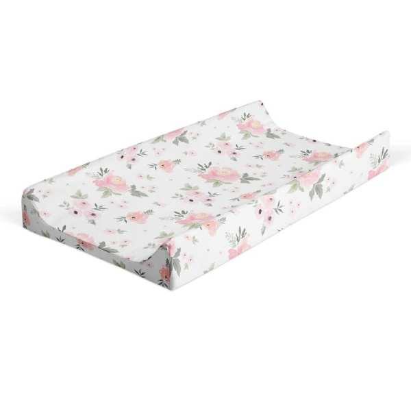 Jlika Nursing Changing Pad Cover Floral
