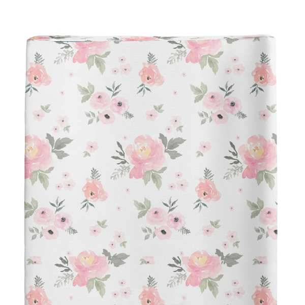 Jlika Nursing Changing Pad Cover Floral