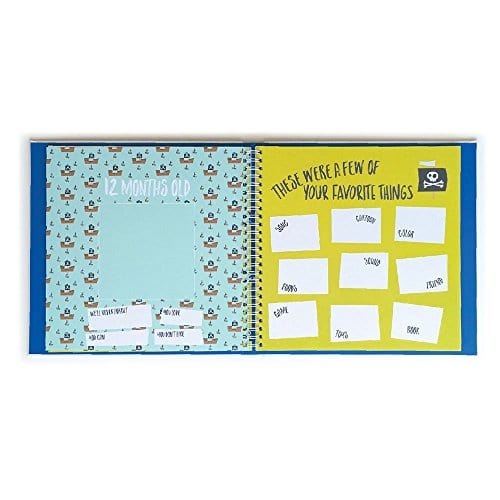 Lucy Darling Little Captain Memory Baby Book