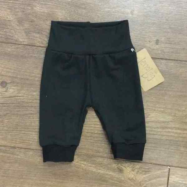 Jena Bug Baby Pants - Solid Black Joggers