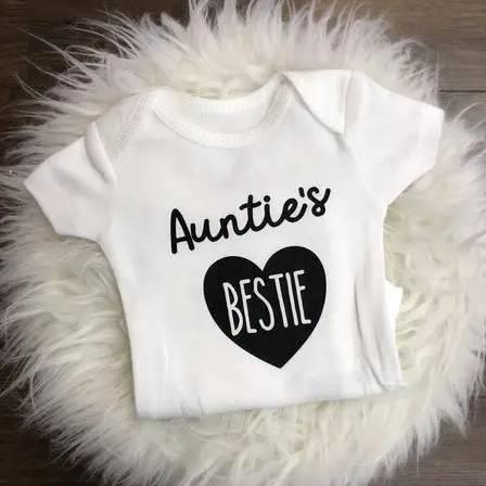 Jena Bug Infant Long-Sleeve Bodysuit - Auntie's Bestie