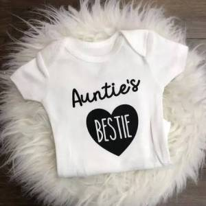 Jena Bug Infant Long-Sleeve Bodysuit - Auntie's Bestie
