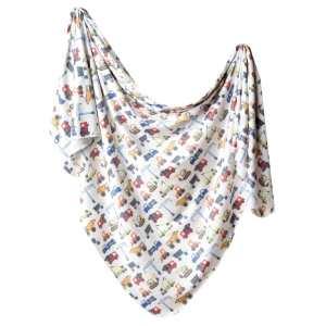 Copper Pearl Diesel Knit Swaddle Blanket