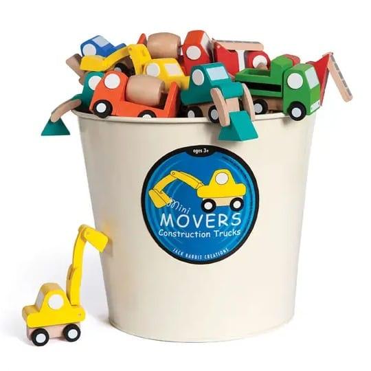 Jack Rabbit Creations Mini Mover Construction Trucks