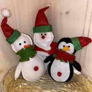 Hanna's Handiworks Christmas Ornaments