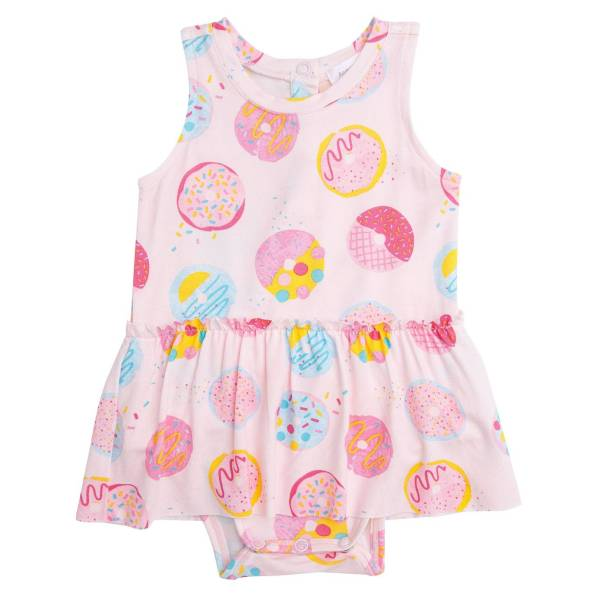 Angel Dear Donuts Bodysuit with Skirt