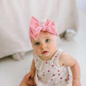 Baby Bling FAB-BOW-LOUS Headband - Zinnia