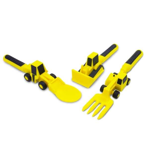 Constructive Eating - Set of 3 Construction Utensils