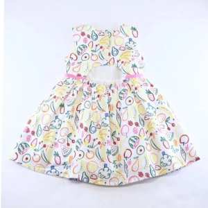 Doe a Dear Fruit Pattern Dress