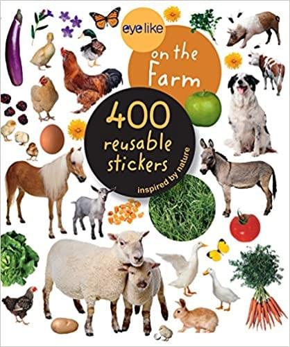 Eyelike Farm Sticker Book