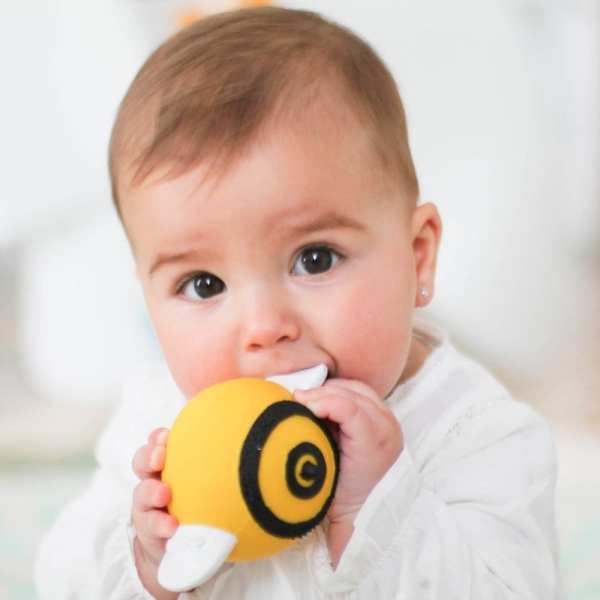 Lanco Natural Rubber Teether Bee