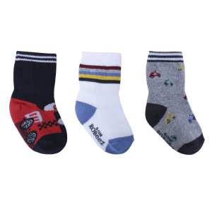 Robeez Socks Racer Red 3-Pack