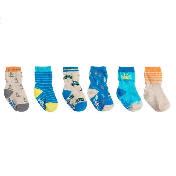 Robeez Socks Surf 6-Pack