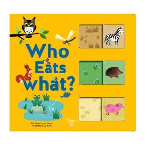 Who Eats What? Board Book