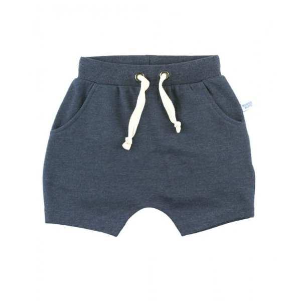 RuggedButts Heather Navy Jogger Shorts