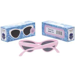 Babiators - LIMTED STYLE - Pink Lady Cat-Eye Kids Sunglasses