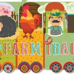 Farm Train Board Book