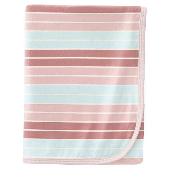 KicKee Pants Active Stripe Swaddle Blanket
