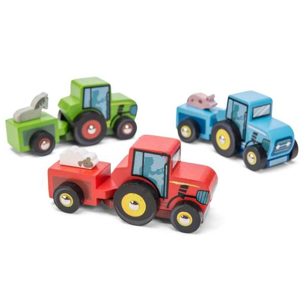 Le Toy Van Wooden Tractor Trails