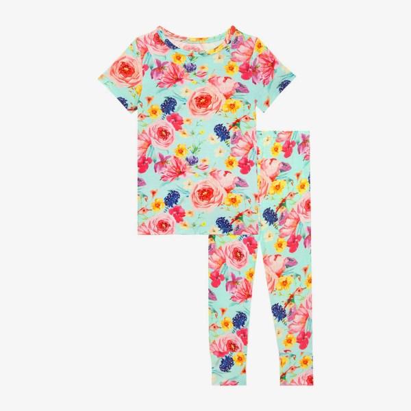 Posh Peanut Olivia Mae Short Sleeve Basic Loungewear