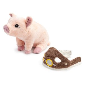 Maybe Book - Plush Flying Pig