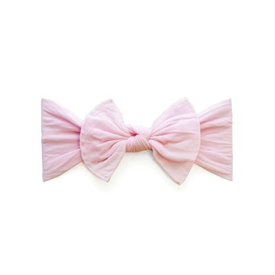 Baby Bling Itty Bitty Knot Bow - Pink