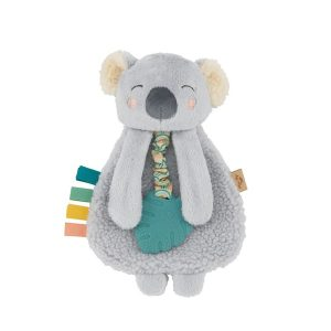 Itzy Lovey Koala Plush with Silicone Teether Toy