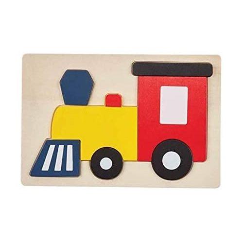 Mud Pie Wooden Puzzle - Train