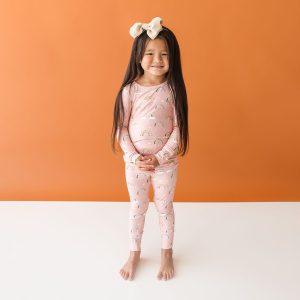 Posh Peanut Shay Long Sleeve Basic Pajamas