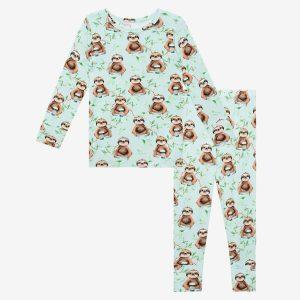 Posh Peanut Normandie Long Sleeve Basic Pajamas