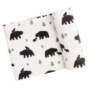 Angel Dear Bears Swaddle Blanket