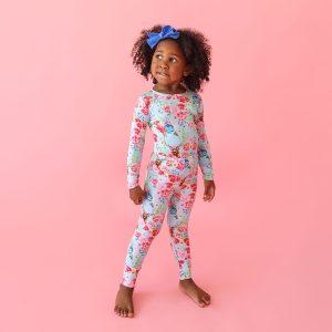 Posh Peanut Fawn Long Sleeve Basic Pajamas