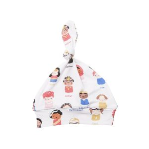 Angel Dear Baby Feminist Knotted Hat