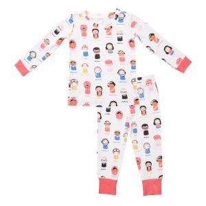 Angel Dear Baby Feminist Long Sleeve Loungewear Set