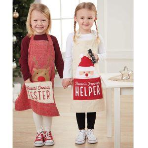 Mud Pie Apron & Cookie Cutter- Reindeer